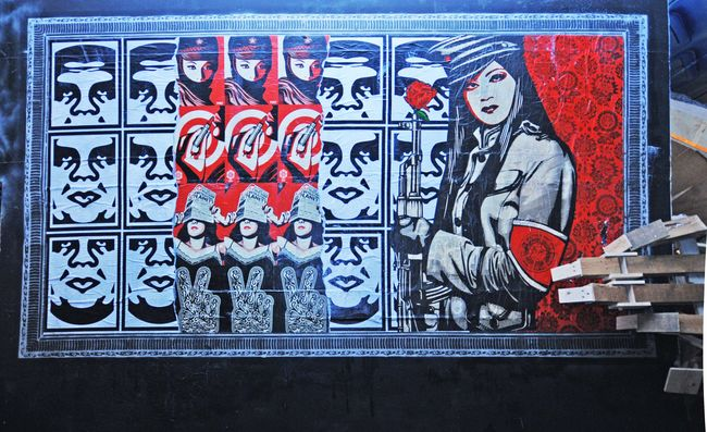 Fresques Par Obey - Londres (Royaume Uni)