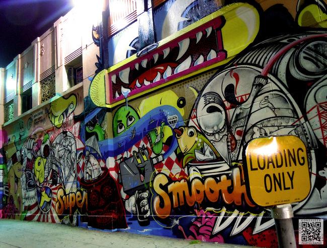 Le street art et l'espace public