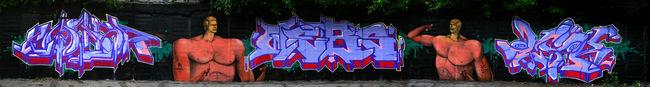 Fresques Par Webs, Waone, Cik, Kolba - Kiev (Ukraine)