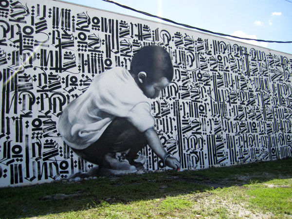 Fresques Par Retna - Miami (FL)