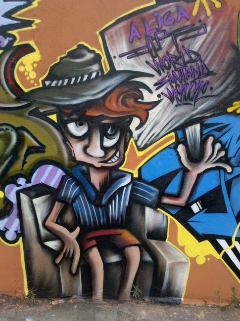 Street Art Par World - Contagem (Bresil)