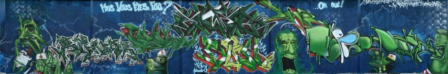 Big Walls By Gamer, Bros, Bouh, Klibre, Sozen, Nerone, Columbo, Menot , Ekzode - Bordeaux (France)