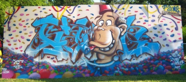 Big Walls By Kzed - Amiens (France)