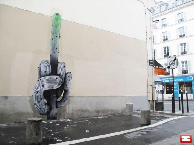 Street Art By Ludo - Paris (France)