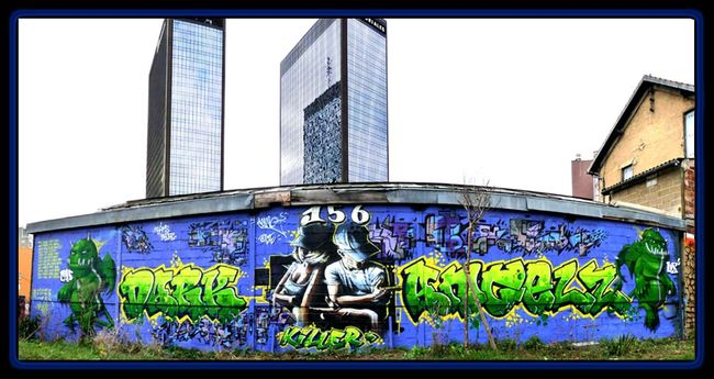 Big Walls By 156 All Starz - Bagnolet (France)