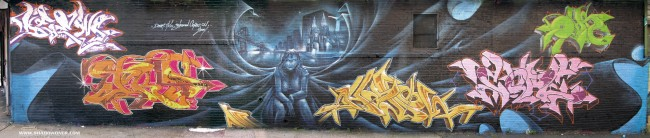 Fresques Par Cope2, Shadow, T-kid, Oh, Deem - New York City (NY)
