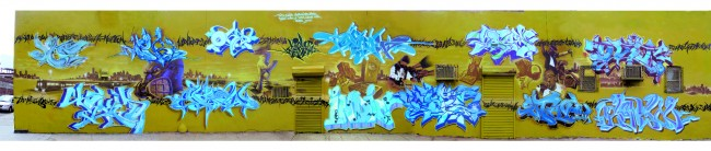 Big Walls By Cope2, Indie 184, Shadow, T-kid, Oh, Deem, Gustav, Webs, Ovie - New York City (NY)