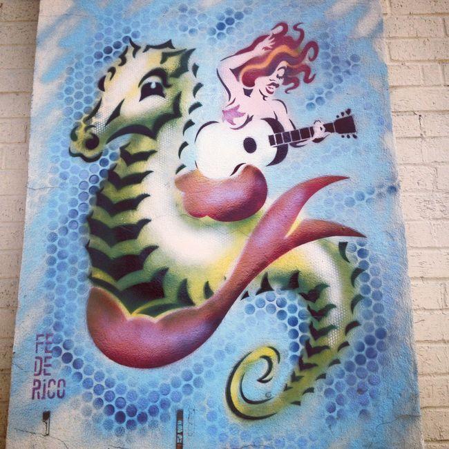 Street Art Par Fe De Rico - Austin (TX)