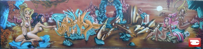 Big Walls By Kalouf - Nevers (France)