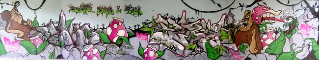 Big Walls By Astustwo, Kebz - Perpignan (France)
