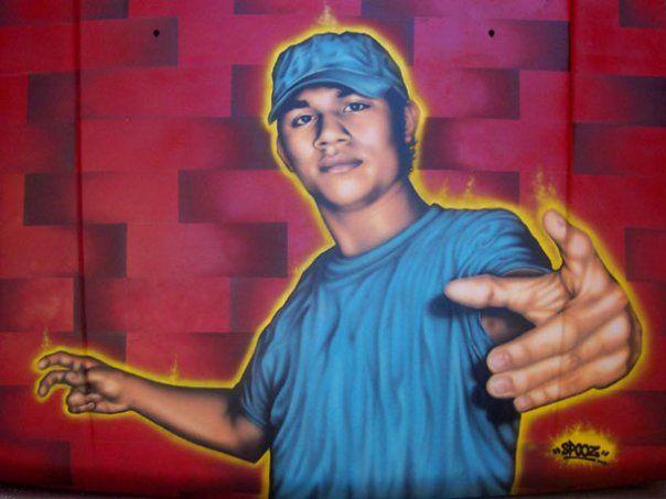 Personnages Par Spooz - Managua (Nicaragua)