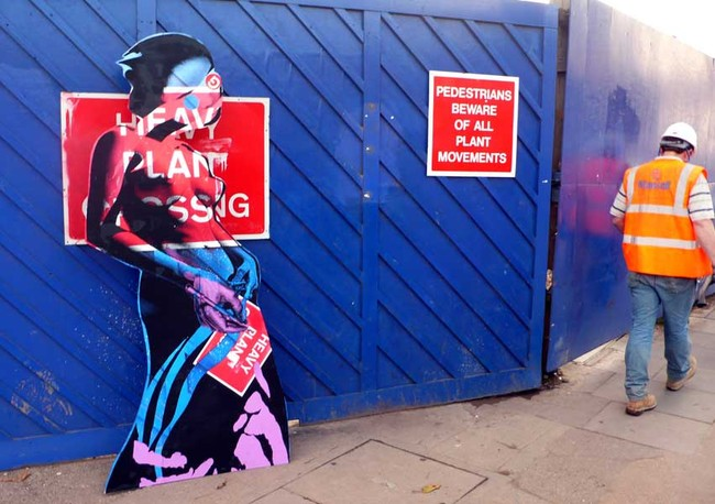 Street Art By Miss Bugs - London (United Kingdom)