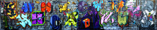 Big Walls By Nosm, Bio, Totem2, Nicer, How, Bg183 - New York City (NY)