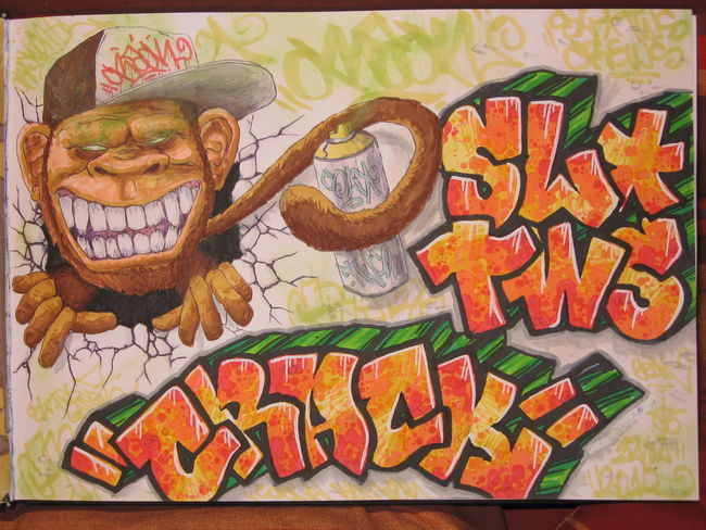 Sketch By Crack - Montpellier (France)