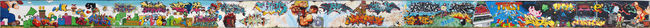 Fresques Par Azek, Posh, Rezo, Reks, Ja, Rel, Opse, Nes, Socrome, Komo, Keyone, Kaise, Stela, Metro, Fish, Jouir, Toune, Forma, Shick, Ocre, Sare, Trist - Toulouse (France)