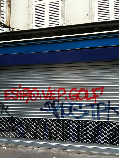 Tags Par Drag, Golf  - Paris (France)