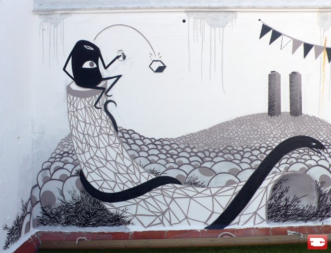 Street Art Par Escif - Valence (Espagne)