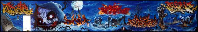 Fresques Par Mel, Kalouf, Sway, 2rode, Rem, Asher, Sine, Feustay  - Niort (France)