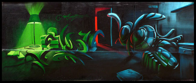 Big Walls By Caligr, Luner - Paris (France)