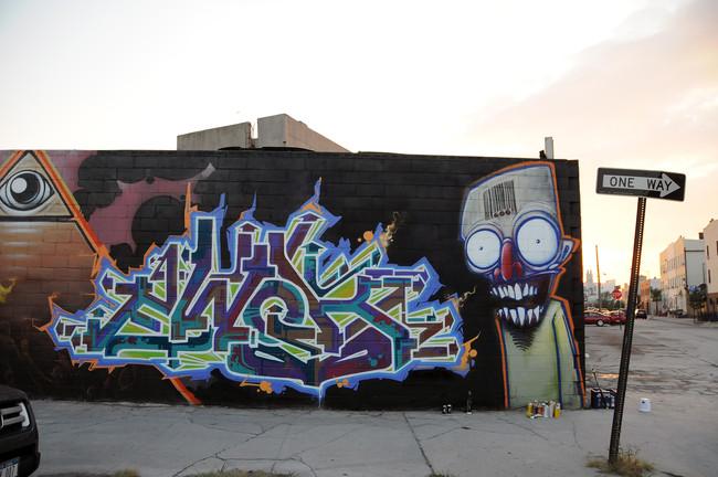 ewok characters graffiti