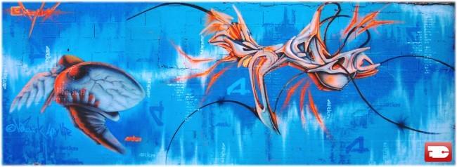 Fresques Par Hofusek, Ladyhate - Auxonne (France)