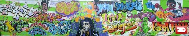 Fresques Par Soap, Wui, Kart, Saloper, Satyr, Tizieu - Caen (France)