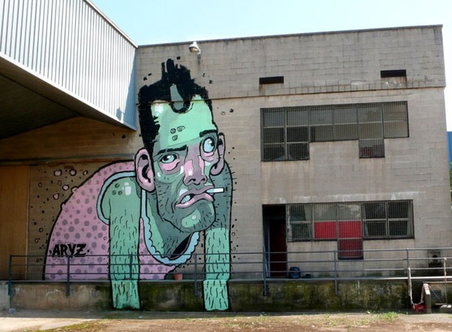 Characters By Aryz - Barcelona (Spain)