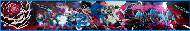 Personnages Par Sly2, Sake, Stack, Haze - Paris (France)