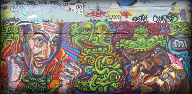 Big Walls By Shaka, Nosbe - Palaiseau (France)