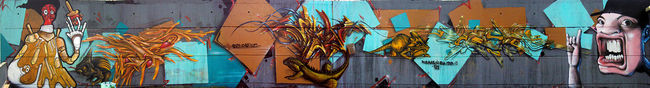 Big Walls By Spazm, Keyler, Nuans, Onesixfrer, Xerou, Miteetim - Toulouse (France)