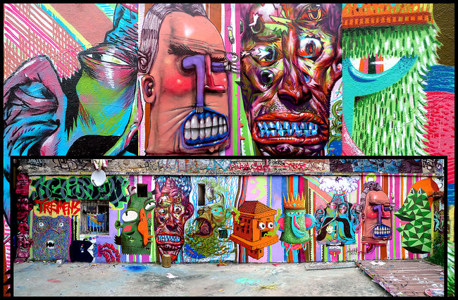 Characters By Popay, Bishop, Sari, Moke, Hitnes, M.patate, Nico, Pozla - Paris (France)
