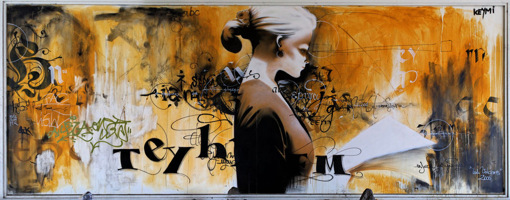 fresques par keymi clermont ferrand france street art et graffiti fatcap. Black Bedroom Furniture Sets. Home Design Ideas