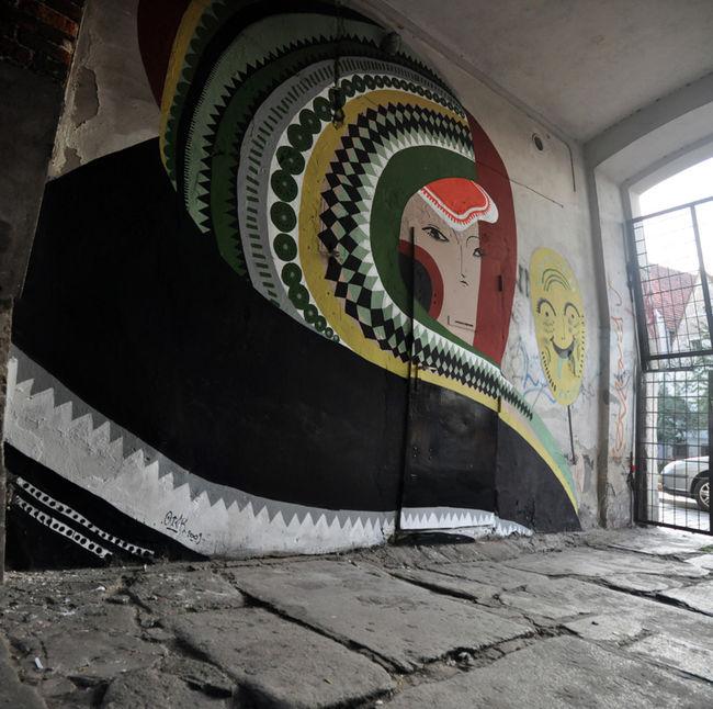 Street Art By Otecki Warsaw Poland Street Art And