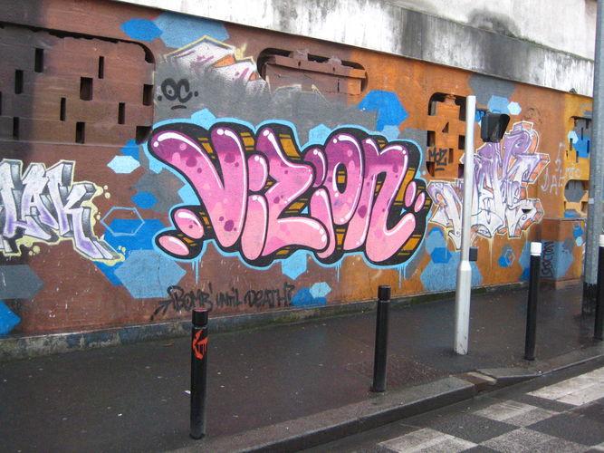 Piece By Vision Montreuil sous Bois (France) Street art and Graffiti FatCap # Pieces Auto Aulnay Sous Bois