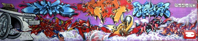 Fresques Par Seo, Dapek - Bayonne (France)