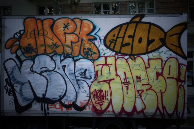 Throw Ups Par Risot, Horfe, Keno, Ndek - Paris (France)