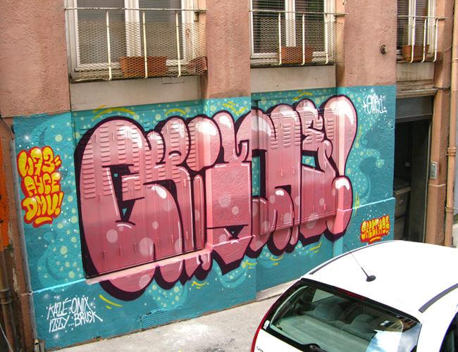 Piece Par Gris - Lyon (France)
