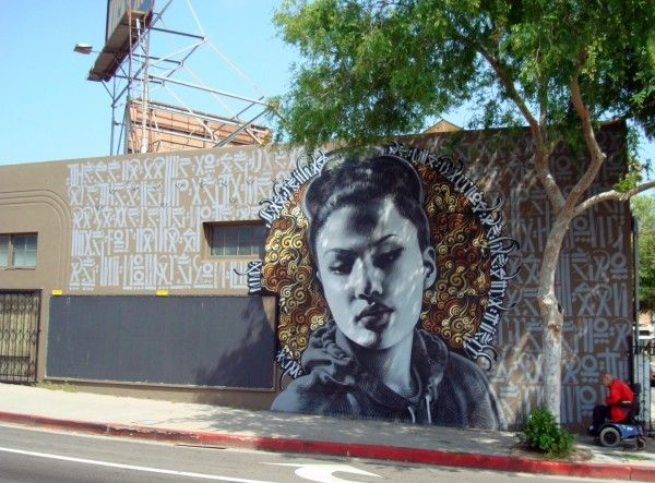 Streetart Abuela New Mural From El Mac X Kofie Nuke In Los