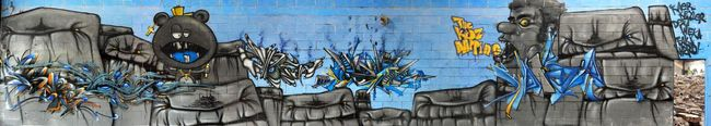 Big Walls By Deft, Keyler, Waro, Kaer, Weka, Fakie - Clermont (France)