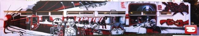 Personnages Par Bandi, Sbyr - Marseille (France)