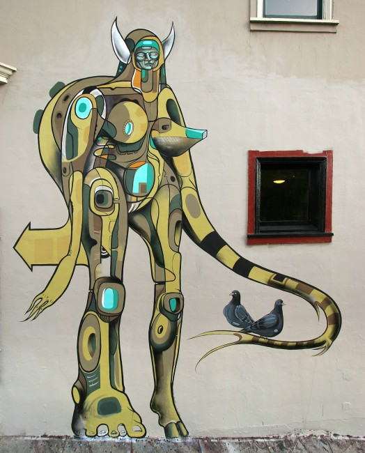 Personnages Par Doze Green - San Francisco (CA)