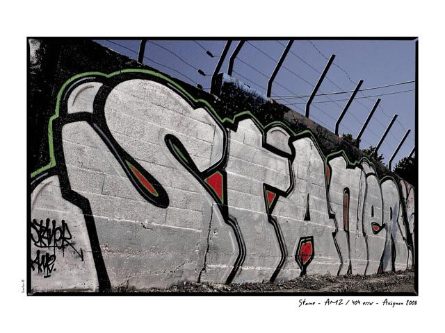 Big Walls By Stane - Avignon (France)