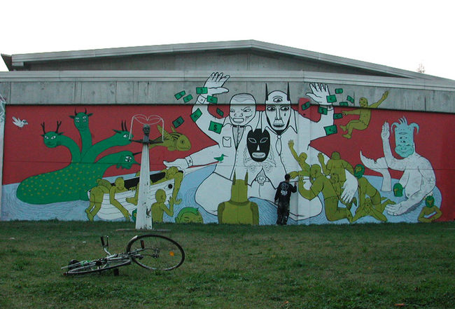 Big Walls By Dem Dem - Turin (Italy)