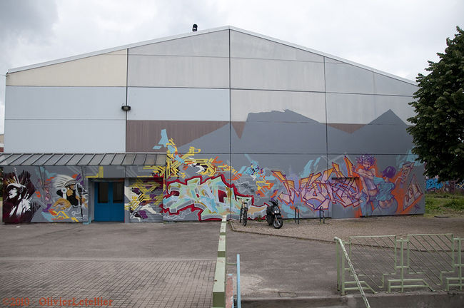 Fresques Par Mode2, Jayone - Nancy (France)