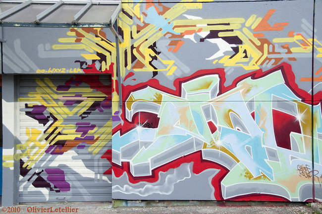 Fresques Par Jayone - Nancy (France)