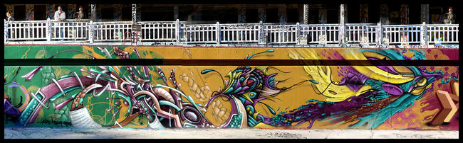 Big Walls By Defco, Reiz, Aouta - Paris (France)