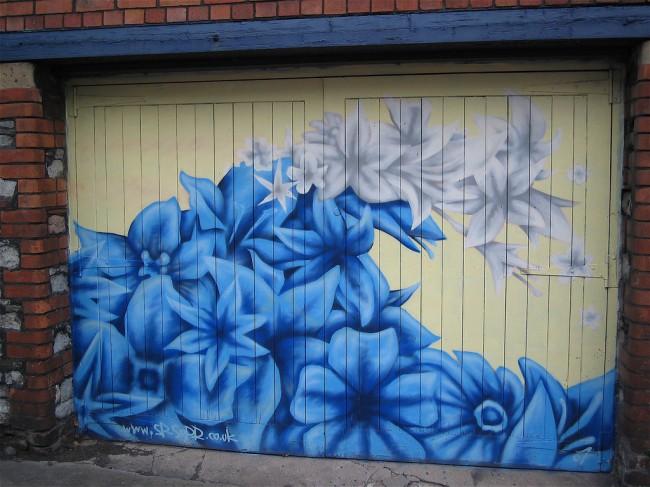 Street Art Par Sepr - Bristol (Royaume Uni)