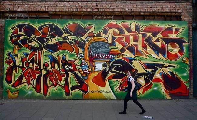 Fresques Par Epok, Sepr - Bristol (Royaume Uni)