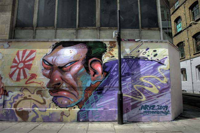 Characters By Aryz - London (United Kingdom)