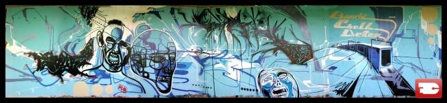 Fresques Par Bandi, Sbyr, Choll, Deter - Geneve (Suisse)